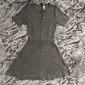 2/$20 Skater dress with keyhole cut